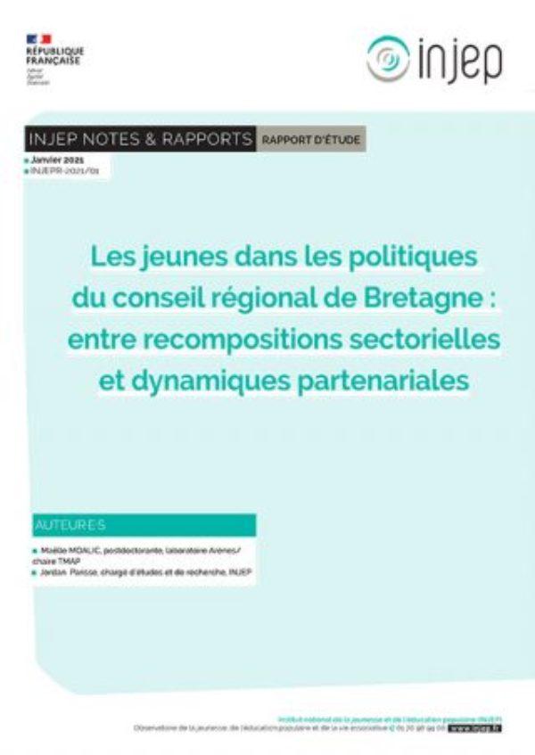 Le dialogue structuré en Bretagne : un rapport INJEP sur les jeunes dans les politiques publiques