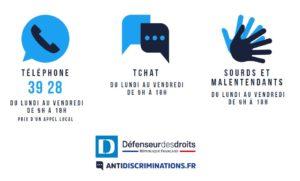 Contacts de la Plateforme anti-discriminations