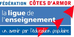 Logo de la fédération des Côtes d'Armor de la ligue de l'enseignement