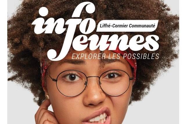 extrait affiche du Service Info Jeunes Liffré-Cormier communauté