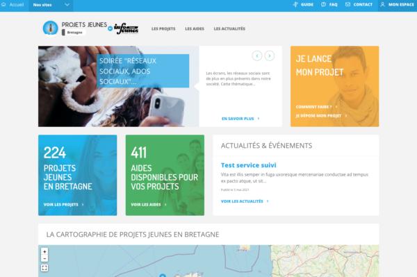 Se référencer sur la plateforme bretonne dédiée aux projets des jeunes