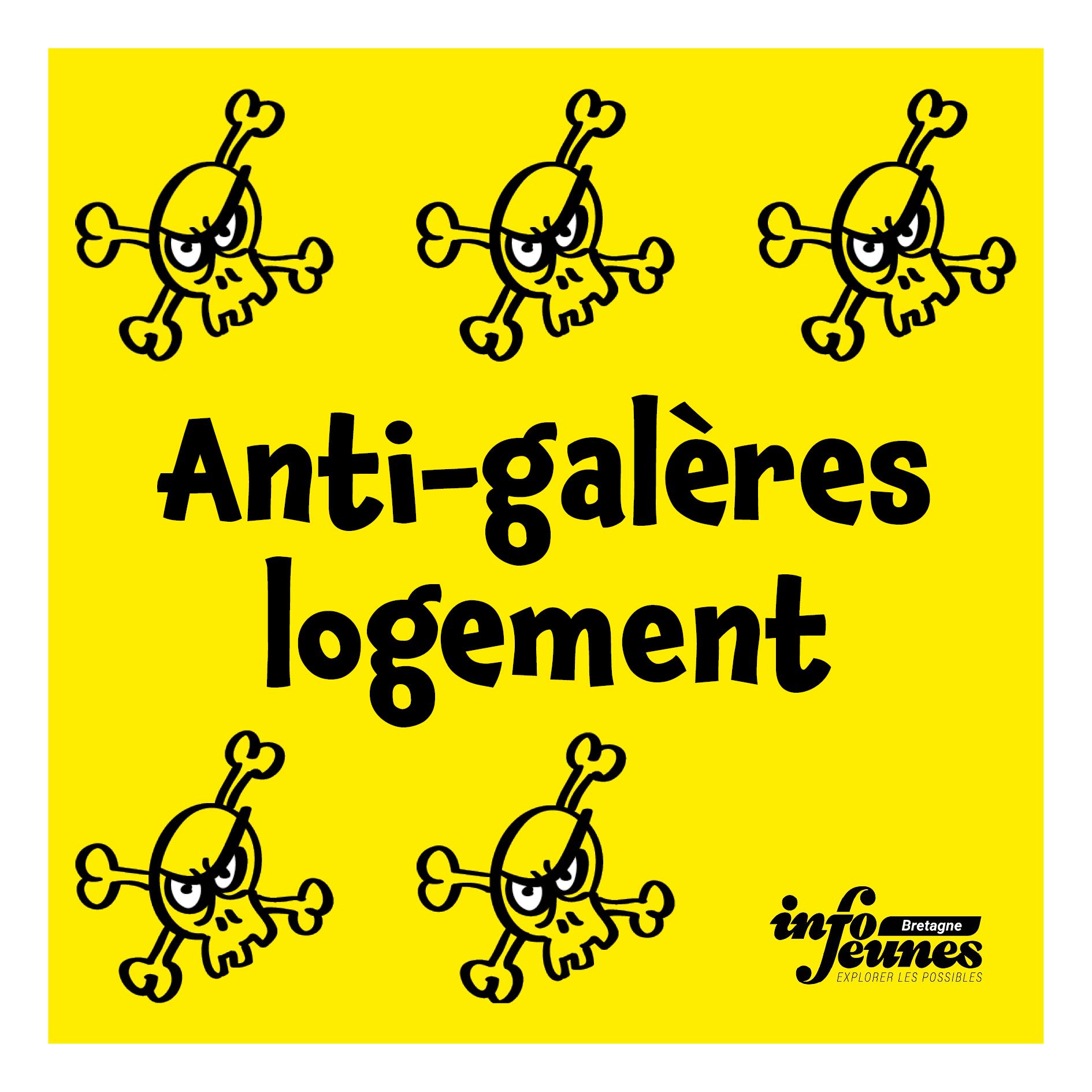 Picto anti-galères logement d'Info Jeunes Bretagne